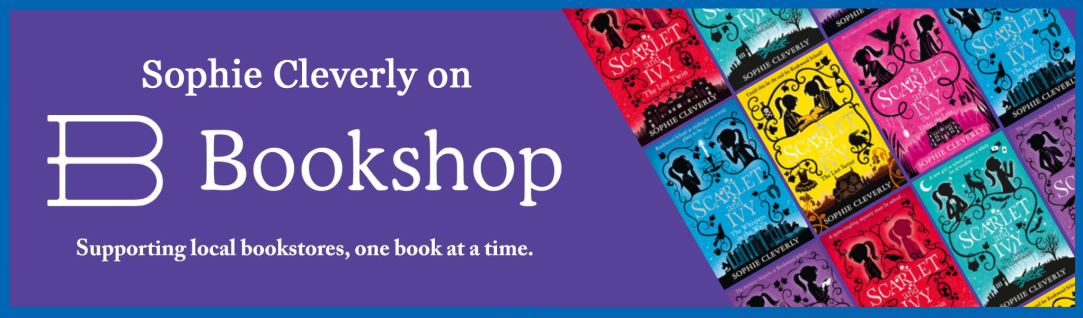 Sophie Cleverly Bookshop banner